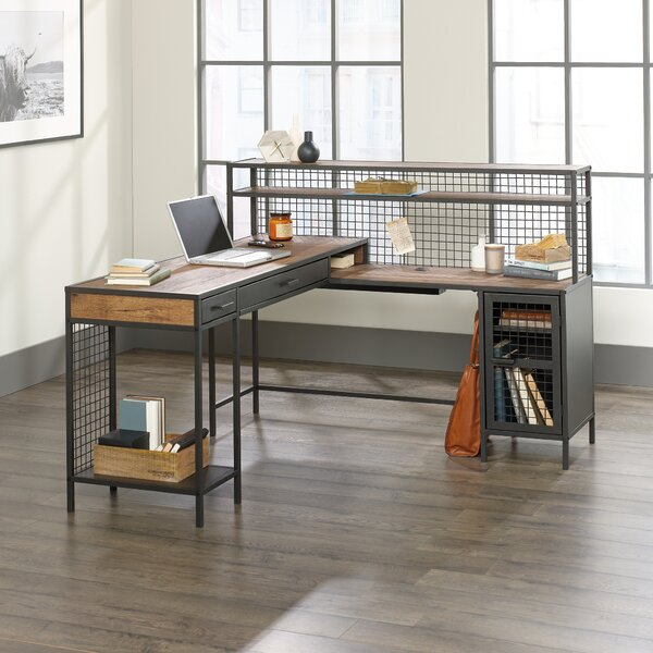 Fuente L-Shape Executive Desk