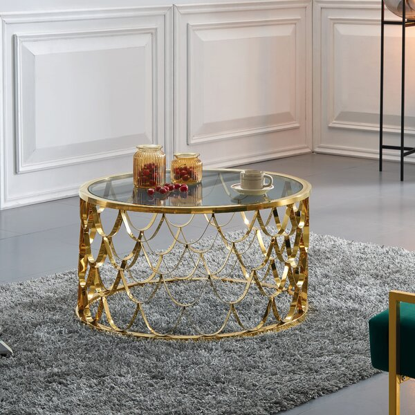 Reena Coffee Table by Everly Quinn