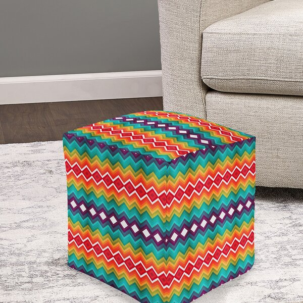 Davies Pouf by Bungalow Rose