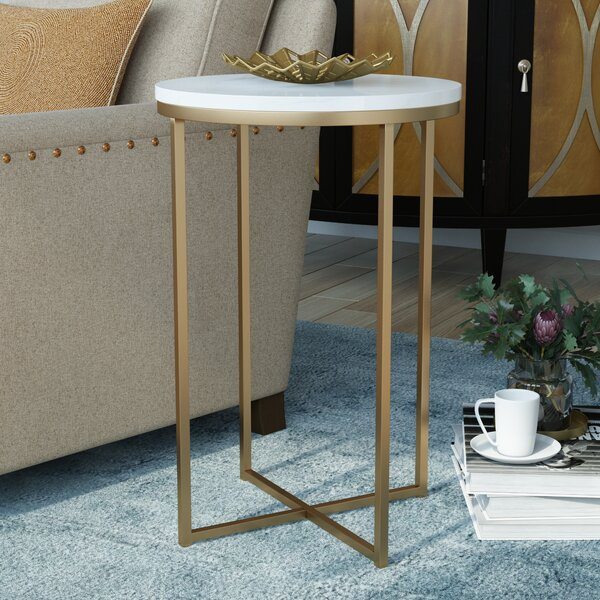 Hurst End Table By Everly Quinn.