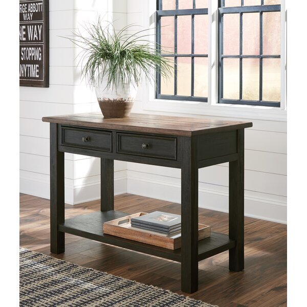 Canora Grey Black Console Tables