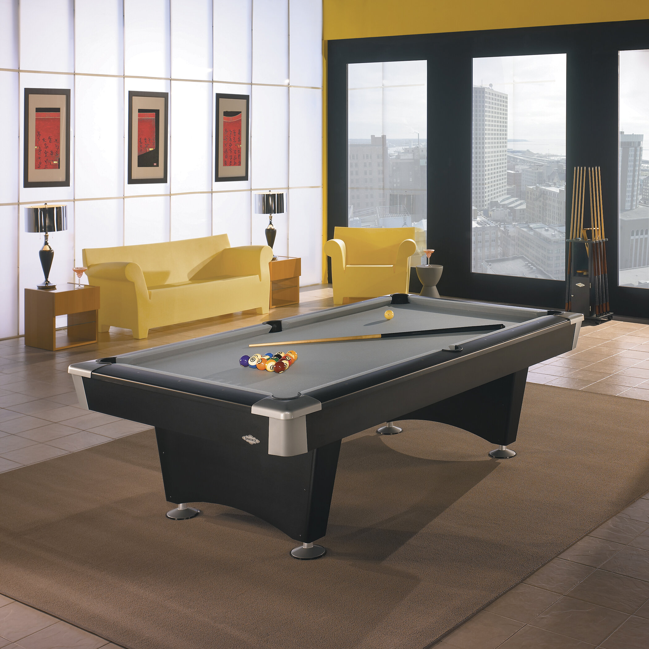 Brunswick Billiards Boca Billiards 8u0027 Pool Table U0026 Reviews | Wayfair