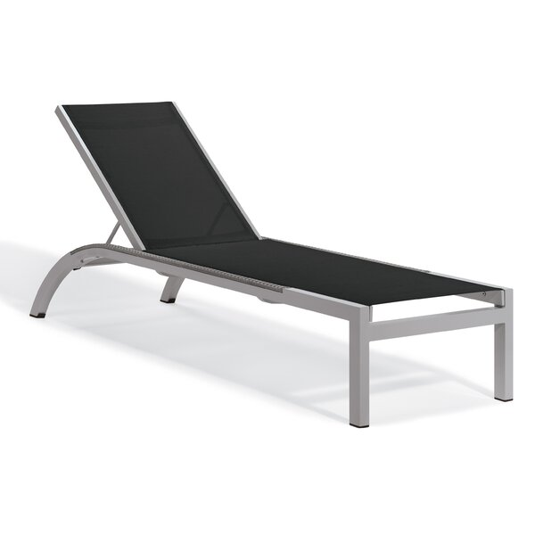 Saleem Reclining Chaise Lounge (Set of 4) by Brayden Studio