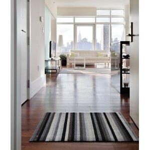 Shag Even Stripe Doormat