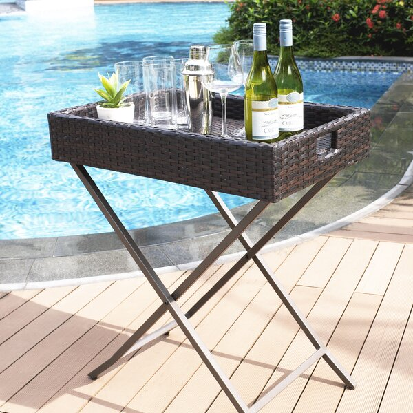 Belton Martini Tray Table by Mercury Row