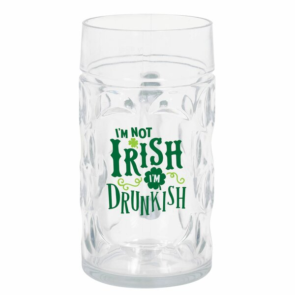 St. Patrick's Day 32 oz. Plastic Highball Glass (Set of 3) by Amscan
