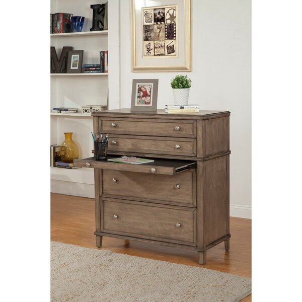 Gilbertson Multifunctional 4 Drawer Chest by Gracie Oaks