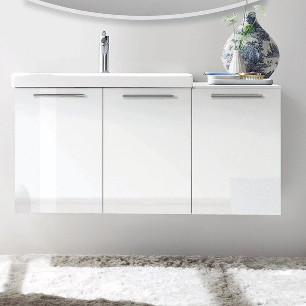 Essenze 42 Single Modern Bathroom Vanity Set by Acquaviva