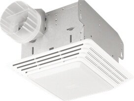 Heavy Duty 80 CFM Bathroom Exhaust Fan with Light by Broan