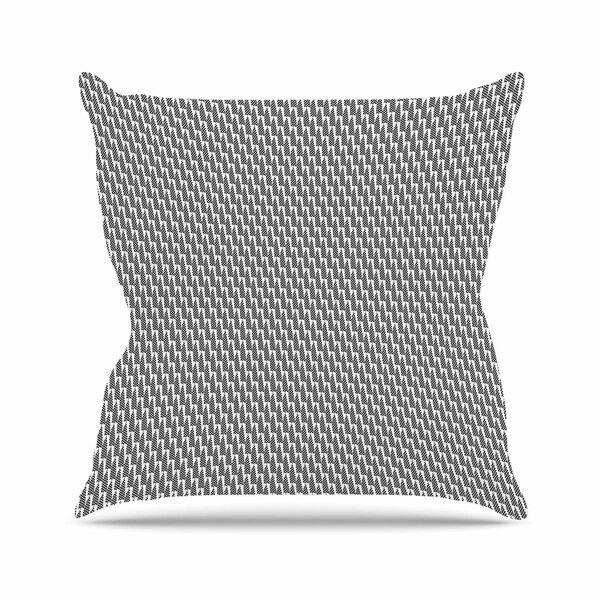 Petit Griffin Mountain Peak Outdoor Throw Pillow by East Urban Home