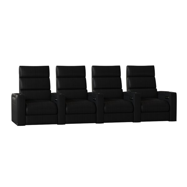 Dream HR Series Home Theater Recliner (Row Of 4) By Winston Porter