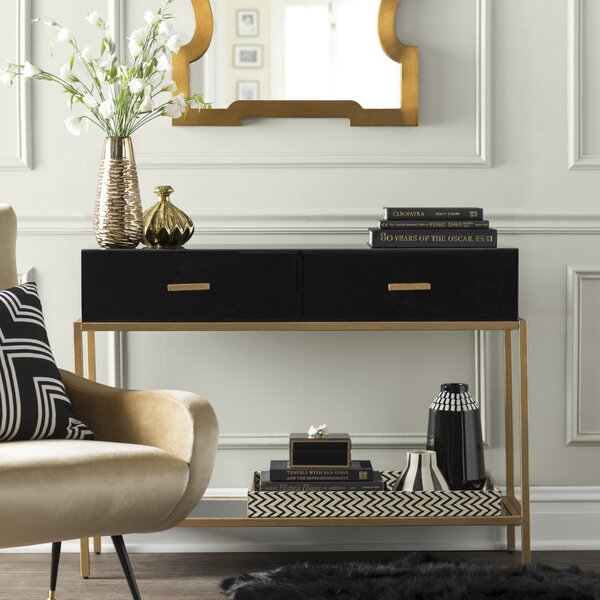 Banas Console Table by Mercer41 Mercer41