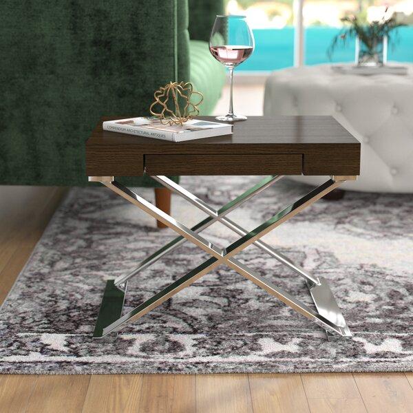 Alexa End Table by Wade Logan