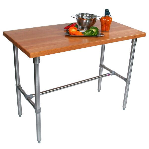 Cucina Americana Counter Height Extendable Dining Table by John Boos