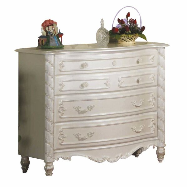 Shaima Look 4 Drawer Dresser by Harriet Bee