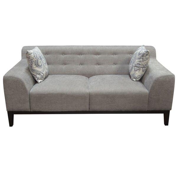 Marquee Tufted Back Standard Sofa by Diamond Sofa