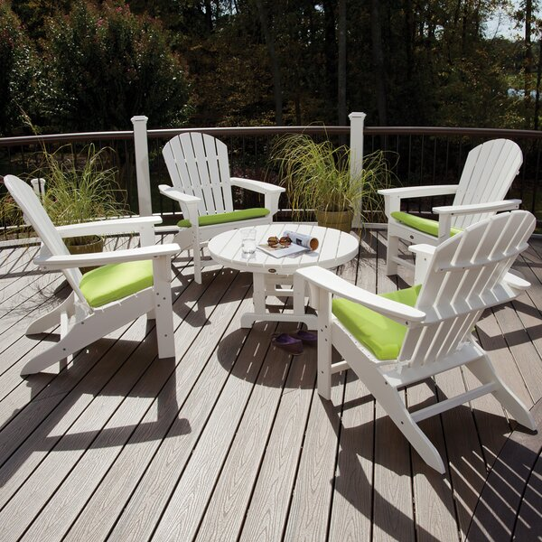 Yacht Club Shellback 5 Piece Multiple Chairs Seating Group by Trex Outdoor