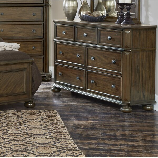 Malik 7 Drawer Dresser by Millwood Pines