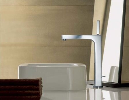 Axor Citterio Vessel Sink Bathroom Faucet with Drain Assembly