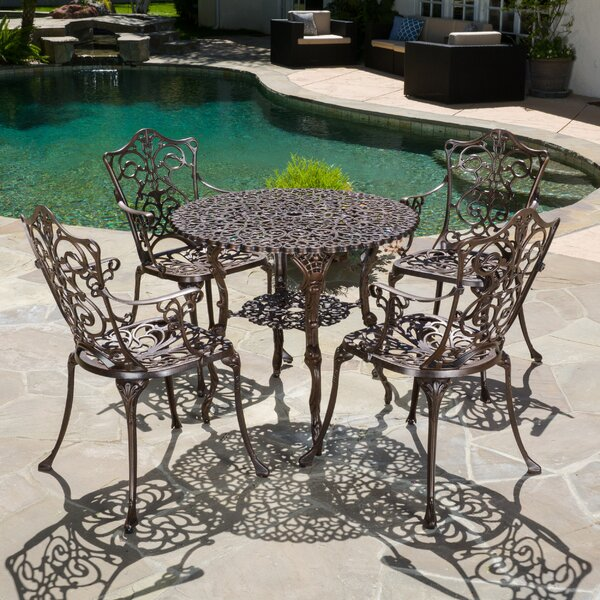 Neville 5 Piece Dining Set by Astoria Grand