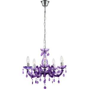 Purple chandeliers wayfair save to idea board mozeypictures Image collections