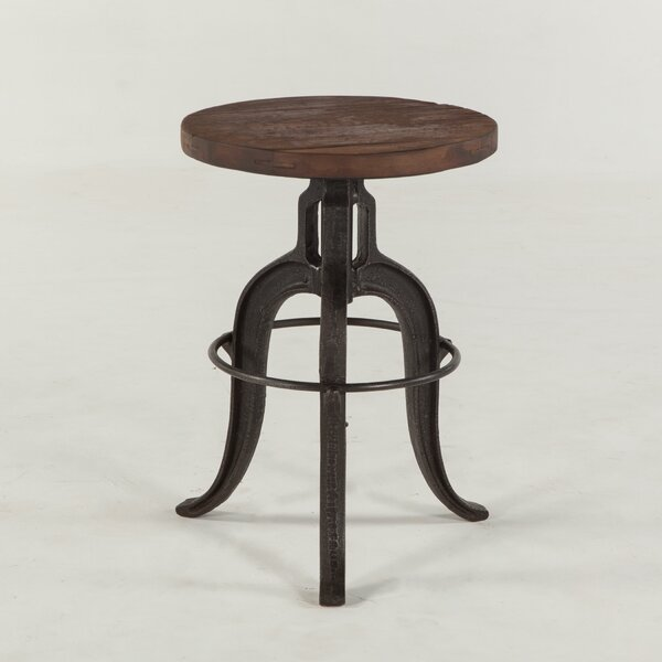 Paxton Adjustable Height Bar Stool by World Interiors