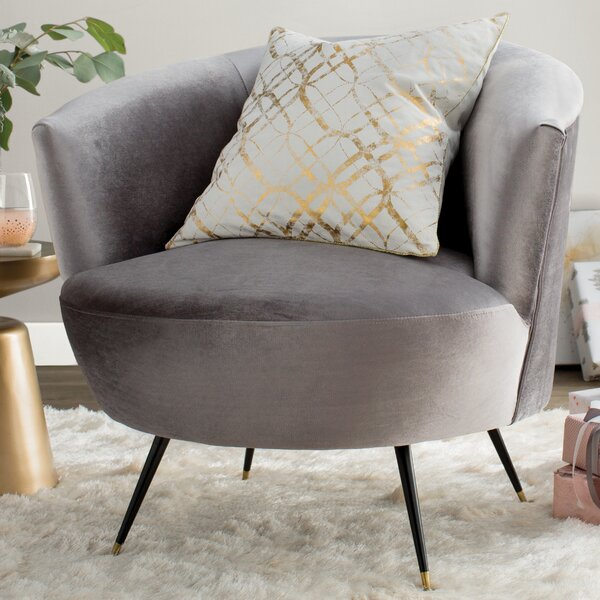 Mullen Barrel Chair by Willa Arlo Interiors