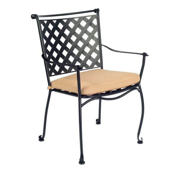 Maddox Stacking Patio Dining Chair by Woodard