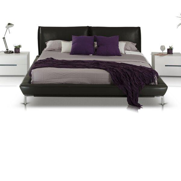 Swanston Upholstered Platform Bed by Wade Logan