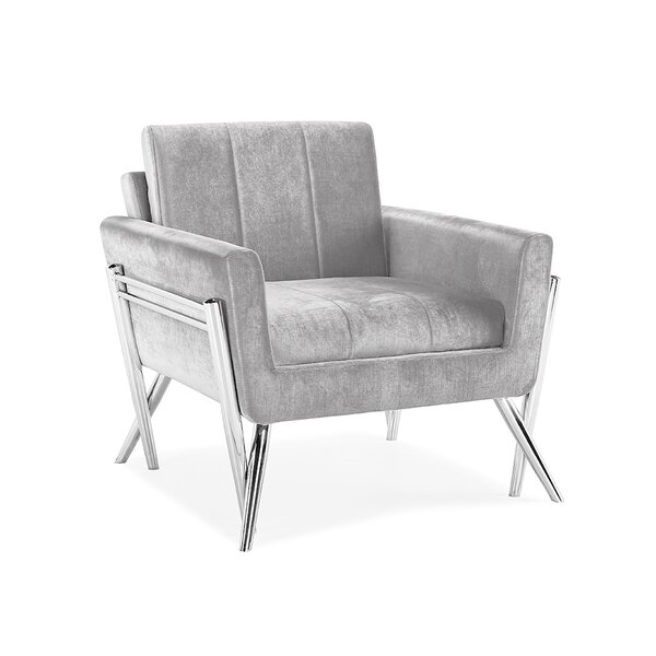 Belleville Armchair By Everly Quinn by Everly Quinn Discount