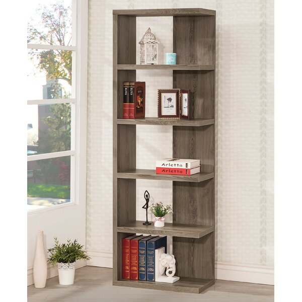 Minnelli Standard Bookcase By Wrought Studio
