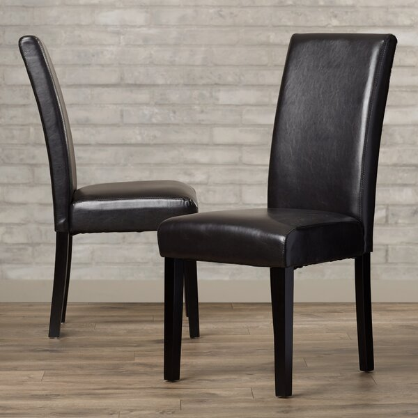 DeMastro Upholstered Dining Chair (Set of 2) by Andover Mills Andover Mills