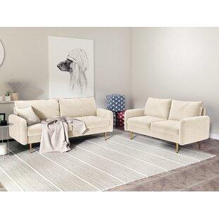 2 Piece Living Room Set by Mercer41
