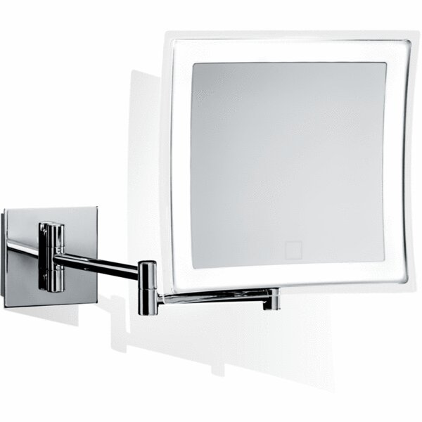 Chronister Touch LED Dimmer Makeup/Shaving Mirror by George Oliver
