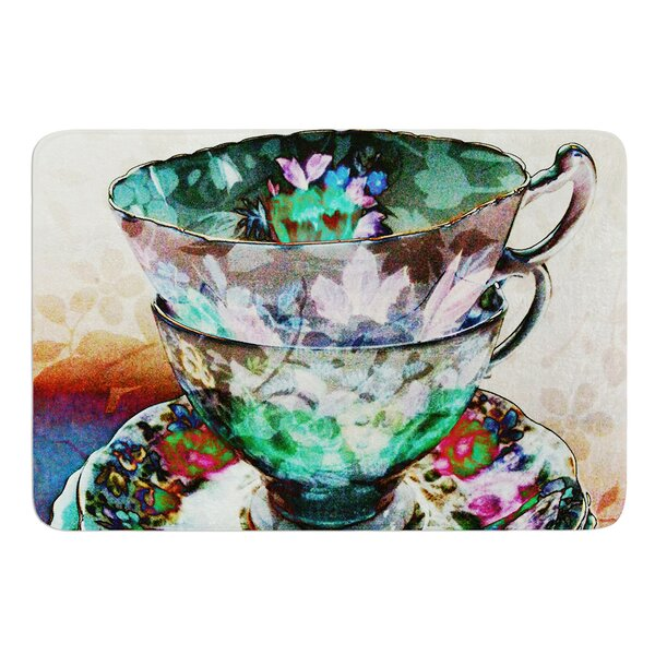 Mad Hatters T-Party III by alyZen Moonshadow Bath Mat by East Urban Home