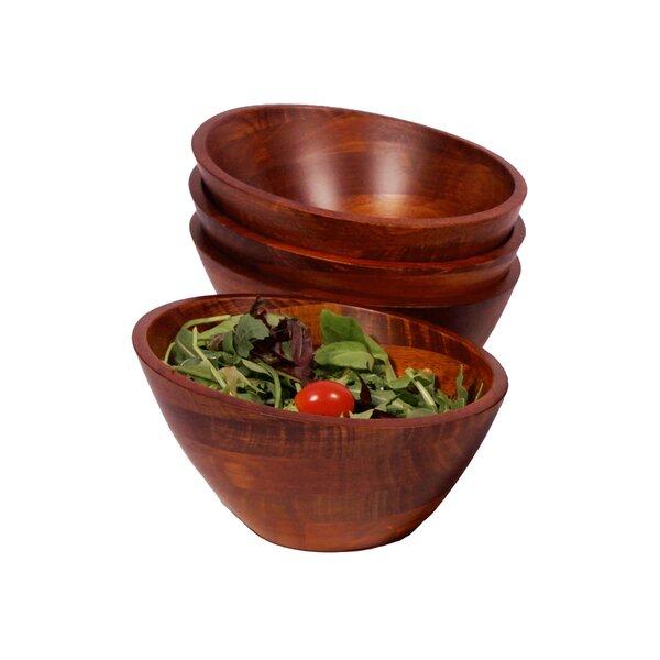 Alivia Salad Bowls Set (Set of 4) by Langley Street