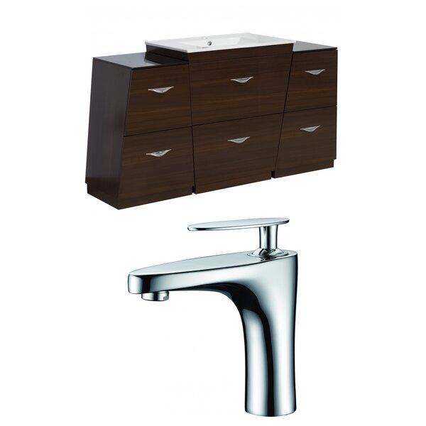 Vee 53 Single Bathroom Vanity Set by American Imaginations