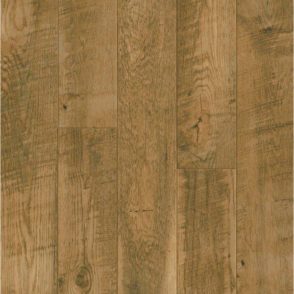 Pryzm Antiqued 5 x 48 x 6.5mm Oak SPC Luxury Vinyl Plank in Natural by Armstrong Flooring