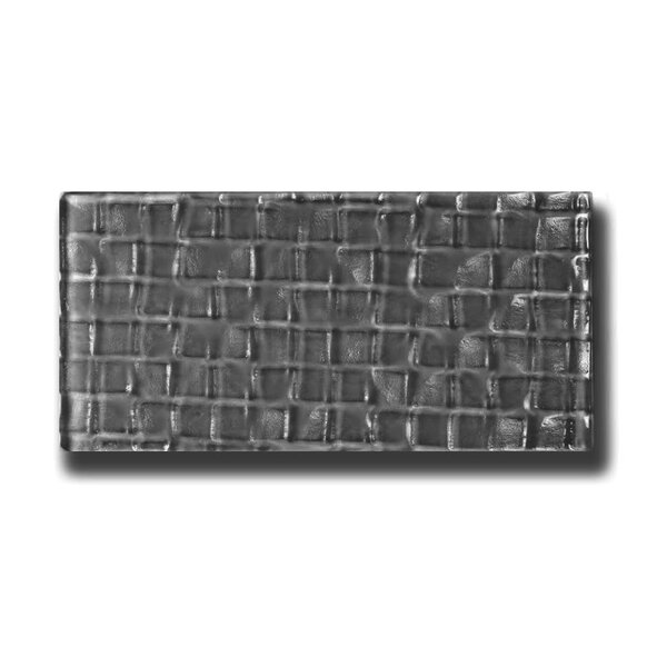 Metro 3 x 6 Glass Subway Tile in Urbansphere by Abolos