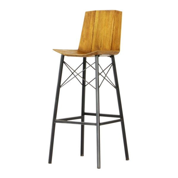 Port Augusta Industrial 32 Bar Stool by Union Rustic