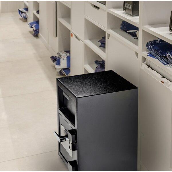 Drop-Hopper Office Safe Box with Key Lock by AdirOffice