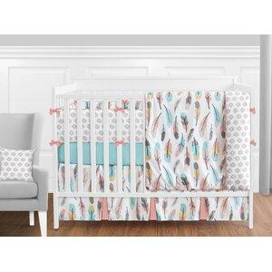 Feather 9 Piece Crib Bedding Set