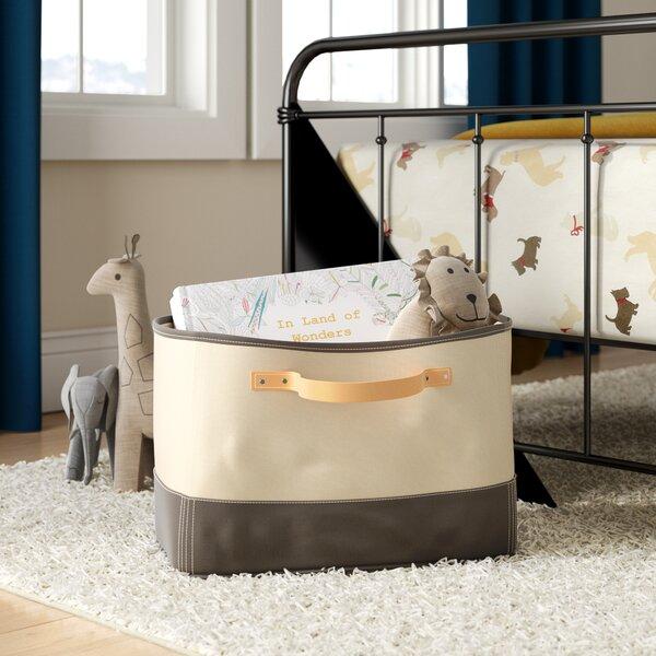 Tub Storage Bin Leather Handle by Birch Lane Kids™