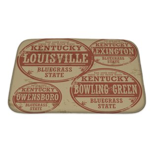 rubber backed bathroom rugs. Vintage Grunge Rubber Stamp Set With Names Of Kentucky Cities Bath Rug Backed Bathroom Rugs