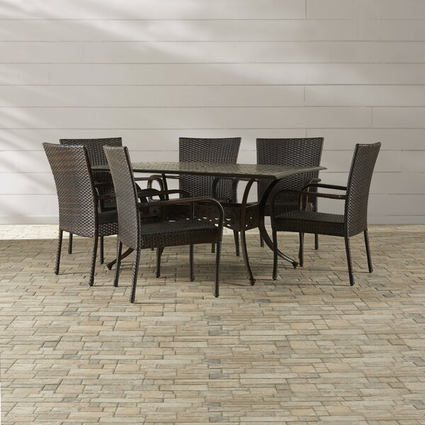 Lawhon 7 Piece Dining Set by Brayden Studio