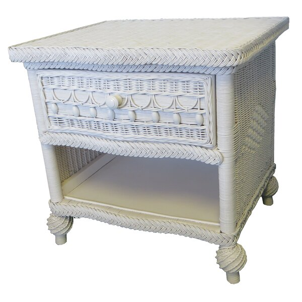 Classic 1 Drawer Nightstand by Yesteryear Wicker Yesteryear Wicker