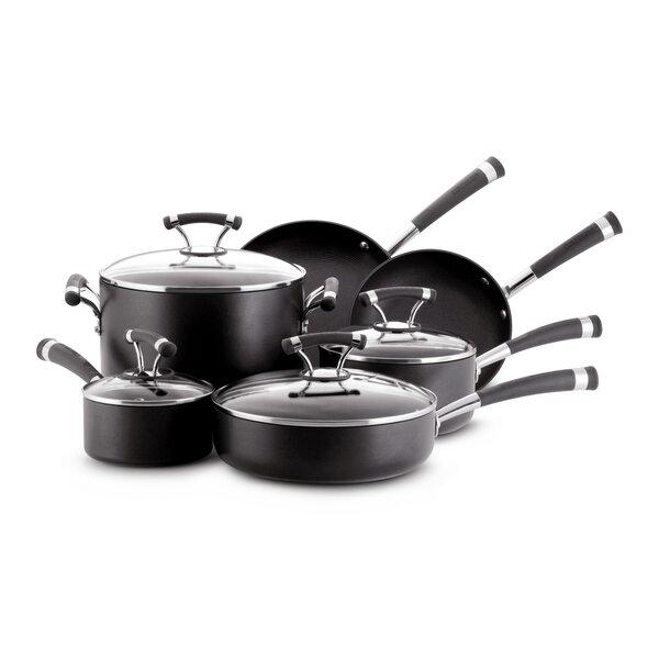Contempo 10 Piece Non-Stick Cookware Set by Circulon