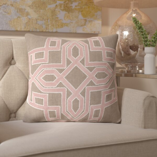 Hudgens Linen Throw Pillow by Mercer41