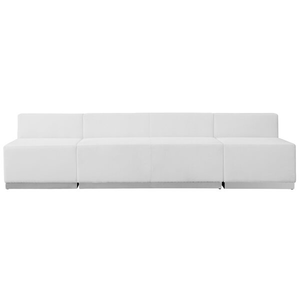 Dashing Krysten Reception Sofa by Orren Ellis by Orren Ellis