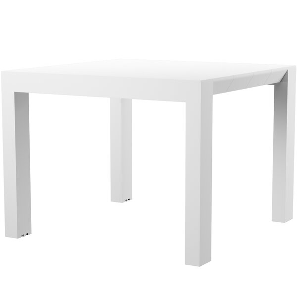 Curnutt Extendable Plastic Dining Table by Mercury Row